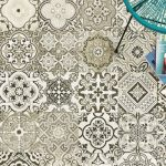 Fuda Tile of Rt 23 S Butler NJ-Fuda13 Nouveau pattern tile wall or floor