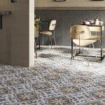 Fuda Tile of Rt 23 S Butler NJ-Fuda2 Ceramica-Fioranese_Cementine_Retrï_Nero+Retrï2