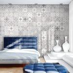 Fuda Tile of Rt 23 S Butler NJ-Grey Pattern tiles on wall or floor