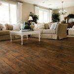 brown woodlook tile