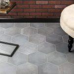 elementary hex porcelian tile