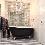 Fuda13 Paris Gray Bev 4x12 Mirror tile
